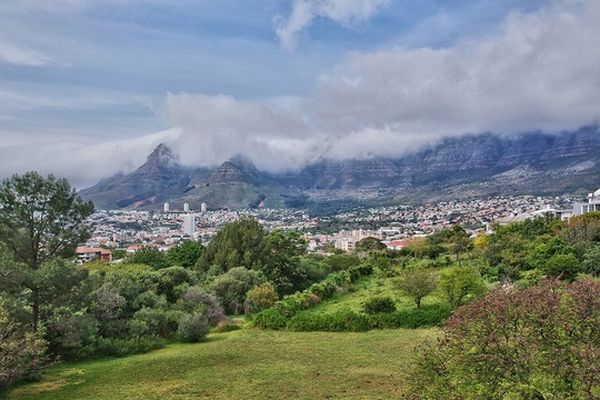 Views of Table Mountain and Devils Peak